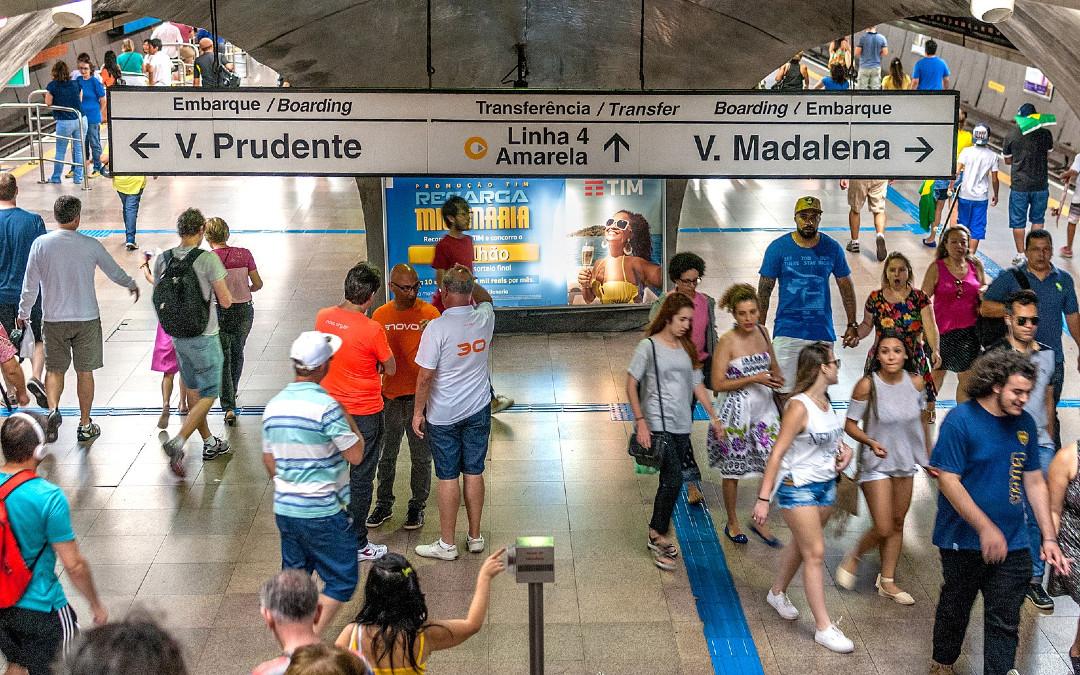 Metro de Sao Paulo debe detener uso de reconocimiento facial, ordena Corte de Justicia