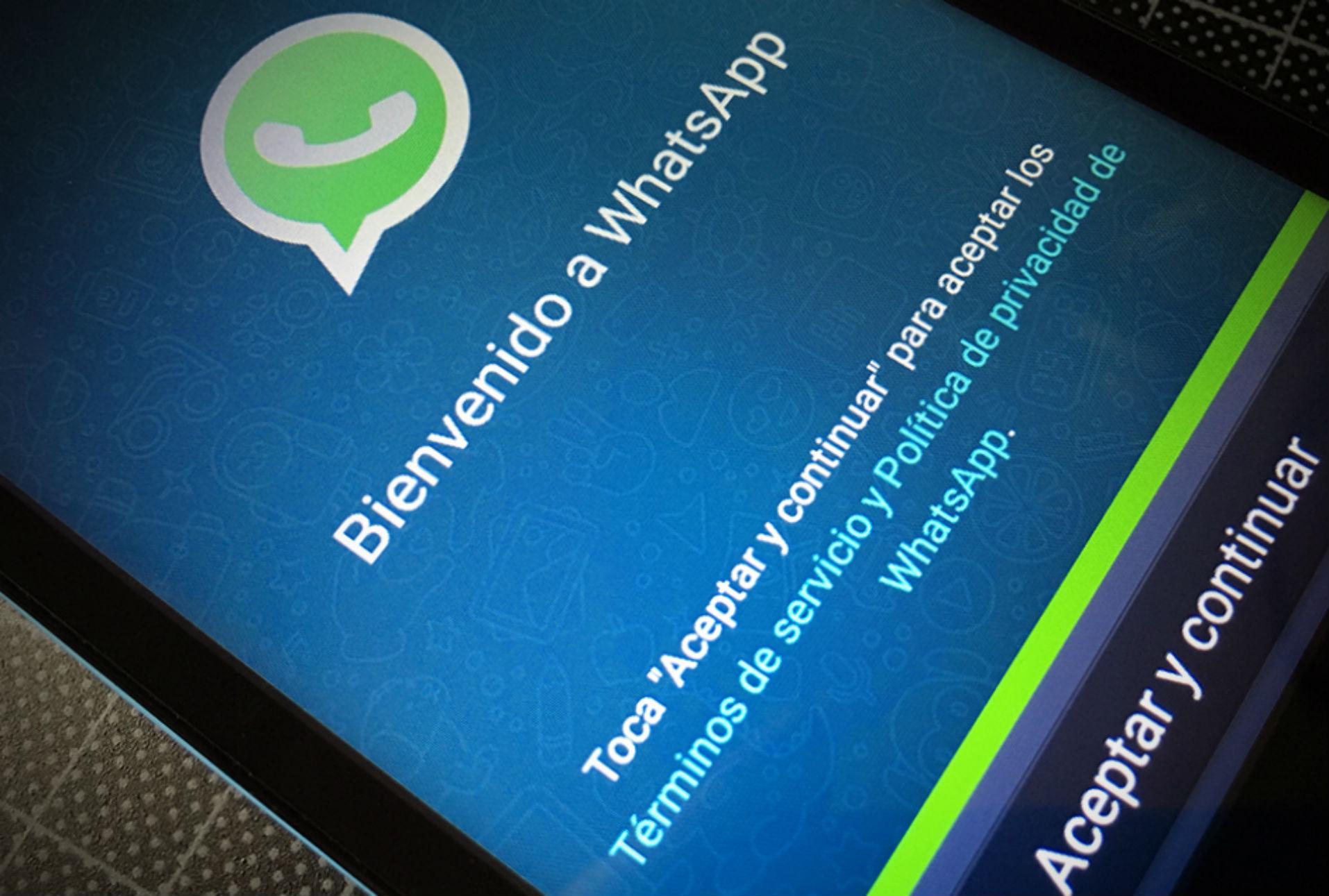 WhatsApp no compartirá datos personales de sus usuarios con Facebook