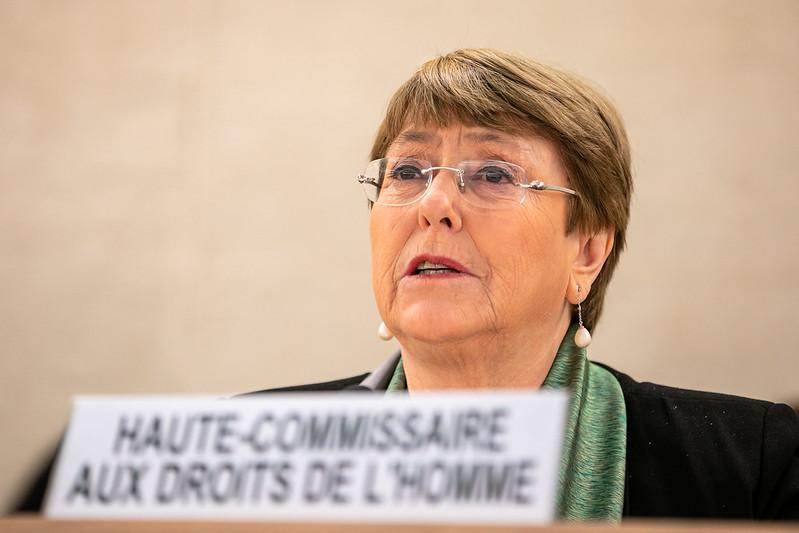 La comisionada Michelle Bachelet reprueba el espionaje contra periodistas y defensores de derechos humanos en México