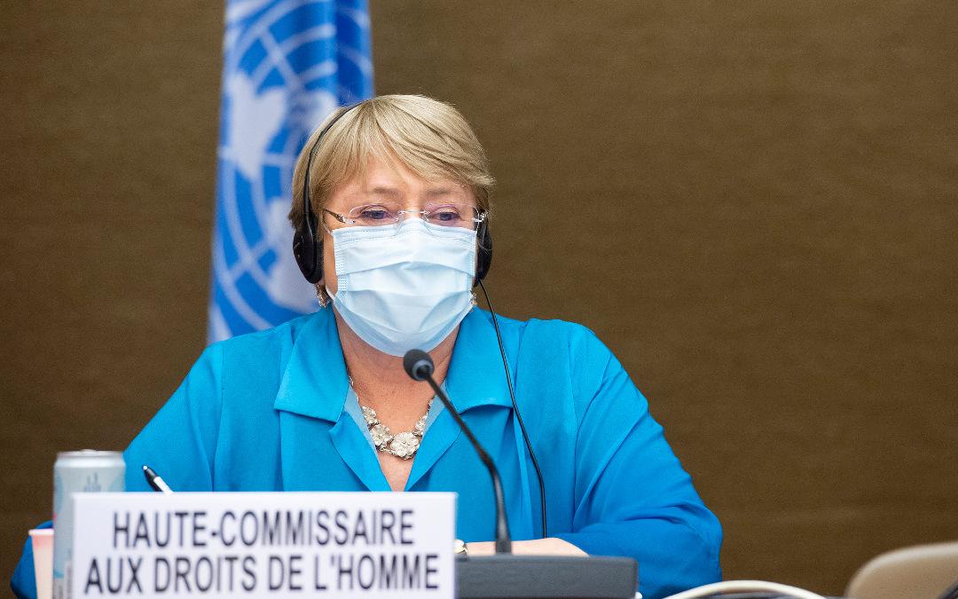 La comisionada Michelle Bachelet insiste en imponer una moratoria global a la venta de tecnologías de vigilancia