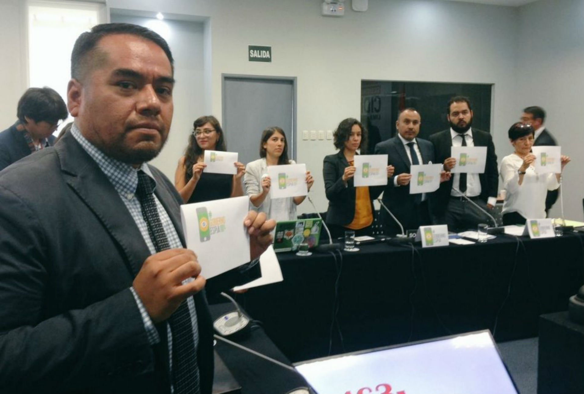 Sociedad civil señala al #GobiernoEspía durante audiencia de la CIDH