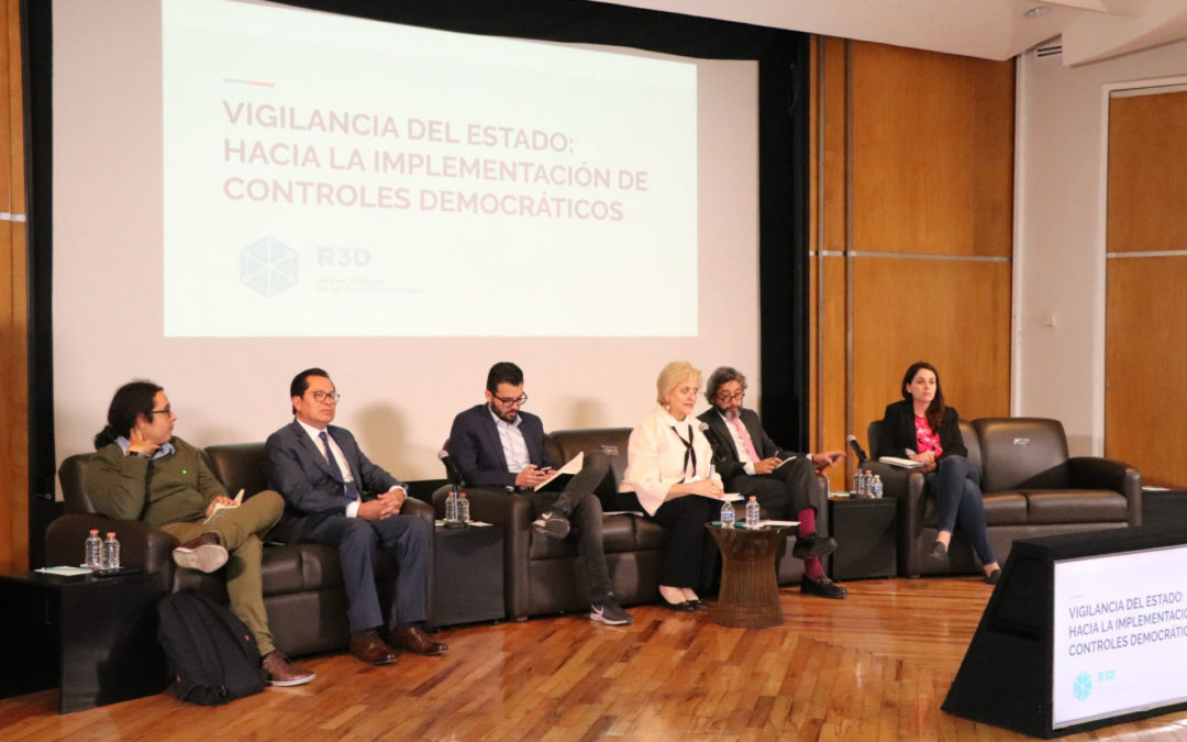 Gobierno, expertos y sociedad civil discuten regulaciones a la vigilancia del Estado en México