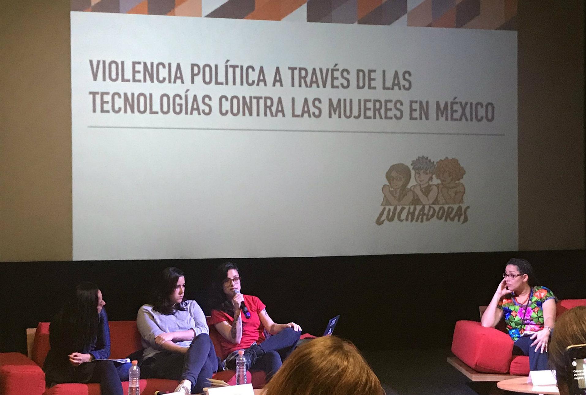 Luchadoras documenta violencia machista contra candidatas a través de la tecnología