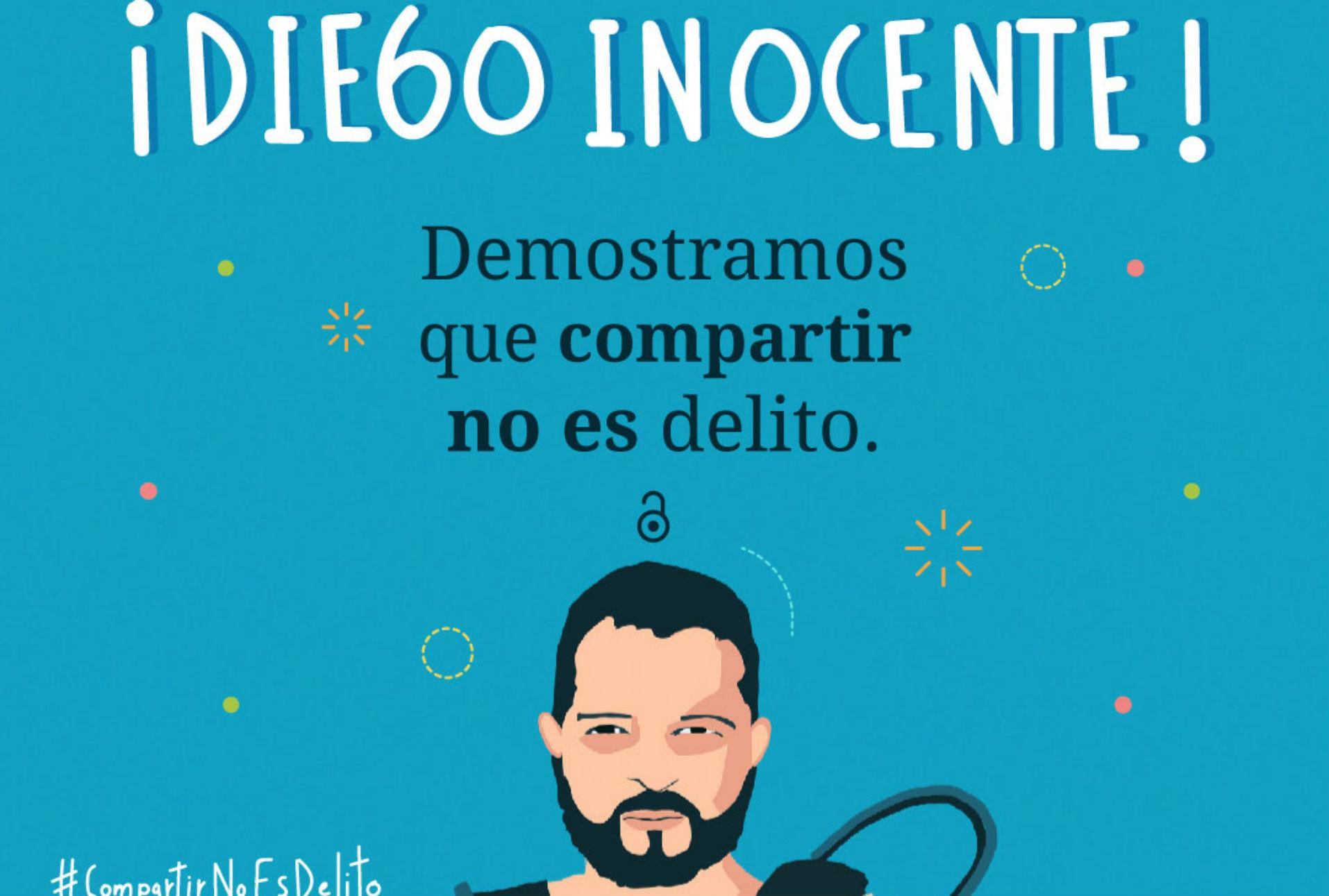 #CompartirNoEsDelito: el biólogo Diego Gómez gana otra batalla legal y es declarado inocente
