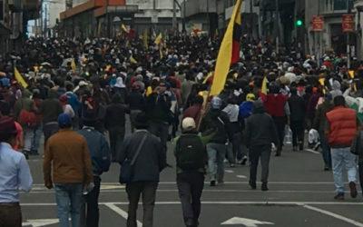 Proveedor estatal de Internet en Ecuador bloqueó acceso a contenidos en redes sociales durante protestas