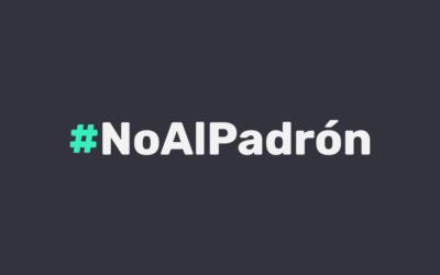 #NoAlPadrón presenta plataforma para interponer demandas de amparo contra el PANAUT