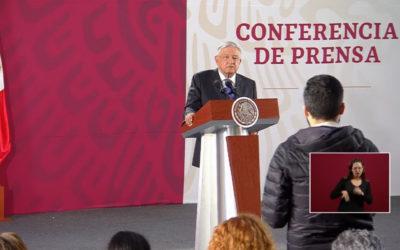 El presidente López Obrador niega que su gobierno use Pegasus