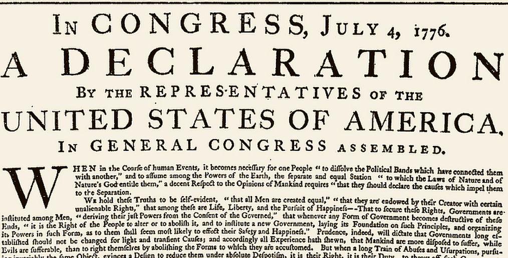 Facebook identifica erróneamente la Declaración de Independencia de EE.UU. como discurso de odio