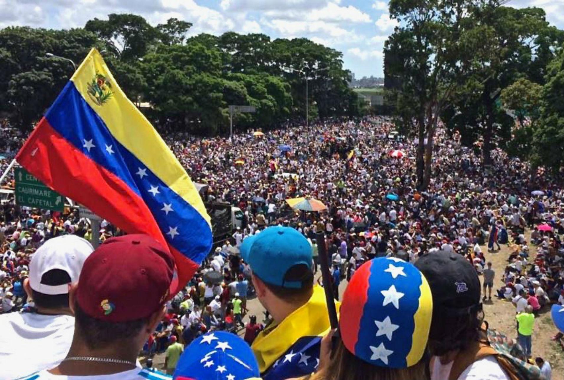 CIDH pide a gobierno de Venezuela respetar el derecho a la protesta y libertad de expresión