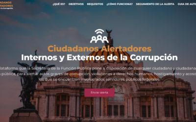 Comunicado: La Plataforma de Alertadores de la SFP no puede proteger de forma efectiva a los denunciantes sin una Ley Nacional de Alertadores
