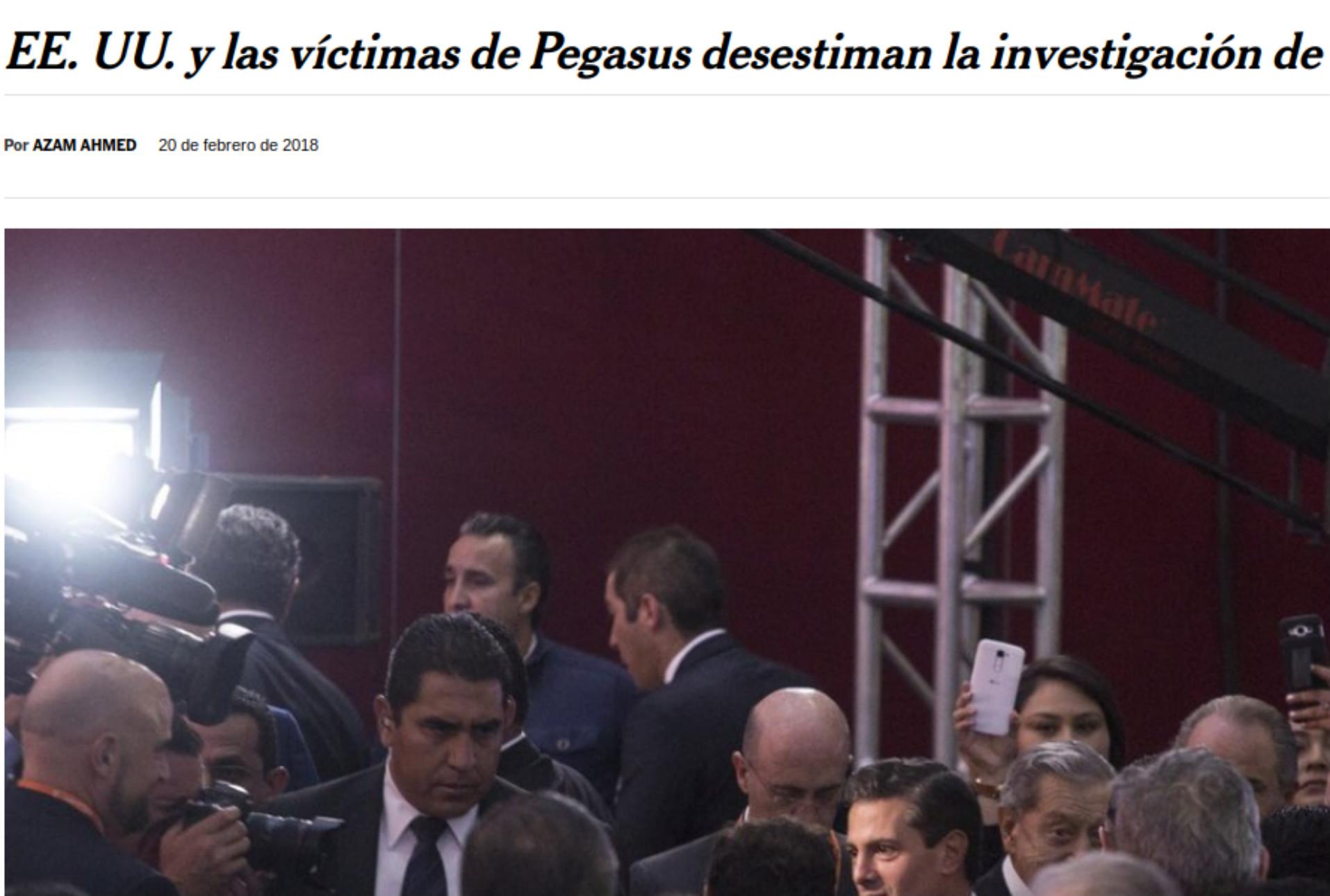 Juez federal ordena a la PGR admitir pruebas de víctimas en la investigación sobre #GobiernoEspía