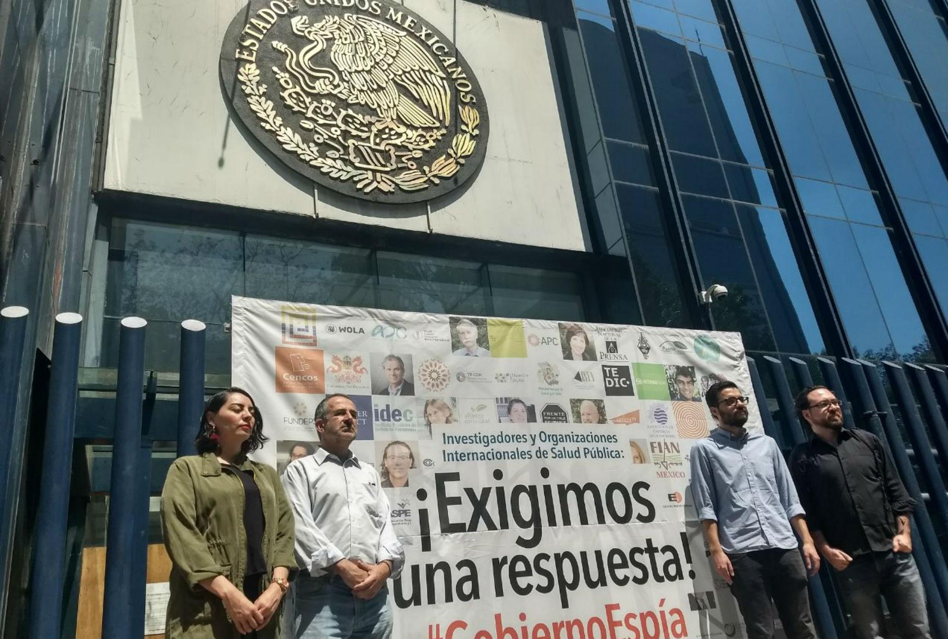 Exigimos resultados a la PGR en la investigación #GobiernoEspía