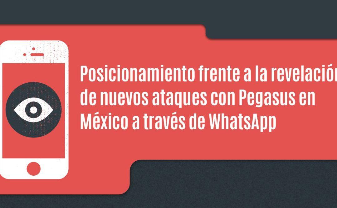 WhatsApp revela que #Pegasus continuó operando en México en 2019