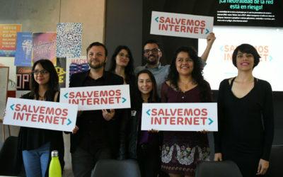 Únete al Día de Acción de #SalvemosInternet