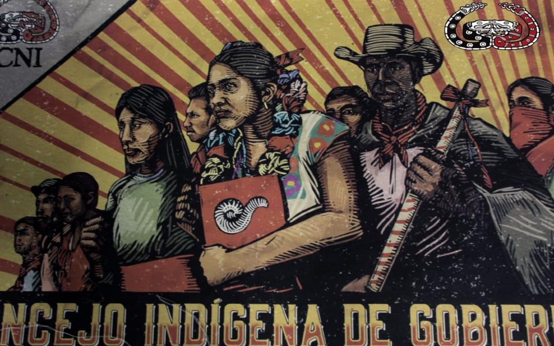 Congreso Nacional Indígena denuncia espionaje y hostigamiento contra sus integrantes