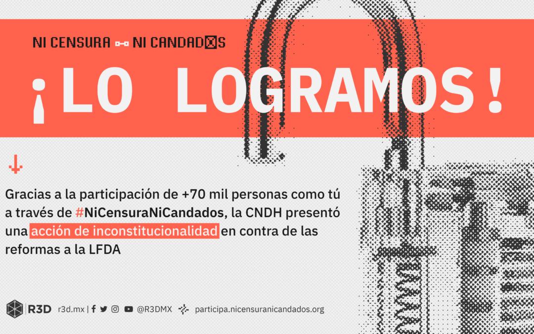 CNDH considera inconstitucionales reformas a la Ley Federal de Derecho de Autor y al Código Penal Federal