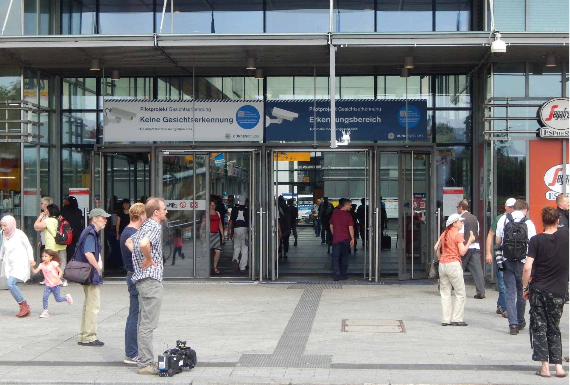 Alemania prueba su primer sistema de reconocimiento facial en espacios públicos